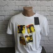 Мужская футболка  от ZARA новая