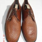 Туфли натуральная кожа 41/26,5 см