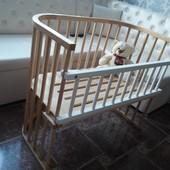 Новая детская кроватка с германии babybay