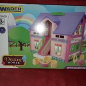 Домик для кукол Wader 25400 Вадер