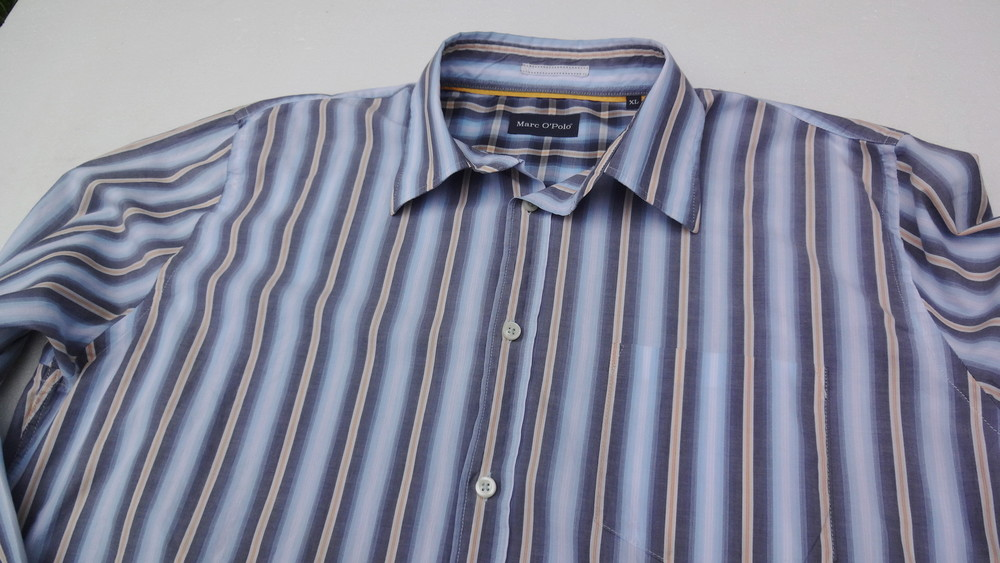Marc O'Polo. Полосатая рубашка с длинным рукавом. фото №1