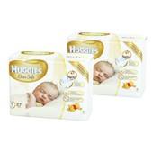 Подгузники Huggies Elite Soft 1 Small (до 5 кг) 27 шт. (Акция! 2 упаковки, 54 шт.)