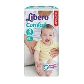 Подгузники детские Libero Comfort 3 (4-9 кг) Midi 68 шт.