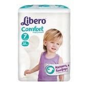 Подгузники детские Libero Comfort 7 XL+ (15-30 кг) 28 шт.
