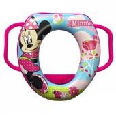 Накладка на унитаз OKT kids Minnie розовая (15-171) мягкая