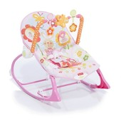 Массажное кресло-качалка Fisher-Price Банни (до 18 кг)