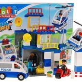 Конструктор JDLT 5133 Полиция, крупные детали