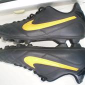 бутсы шиповки Nike Tiempo ( оригинал,Вьетнам) р.38.5 ,стелька 24 см