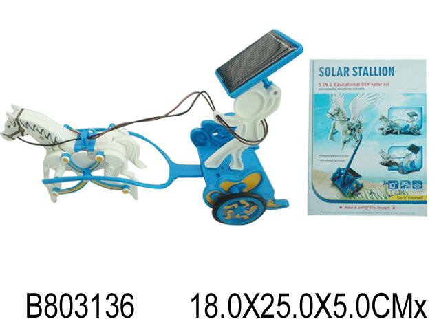 Конструктор-карета на солнечных батар фото №1