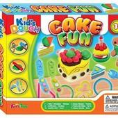 Набор для лепки (пластилин) Kid's Dough пирожные, вафли, гриль