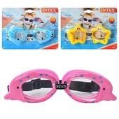 Детские очки для плавания от 3-10 лет