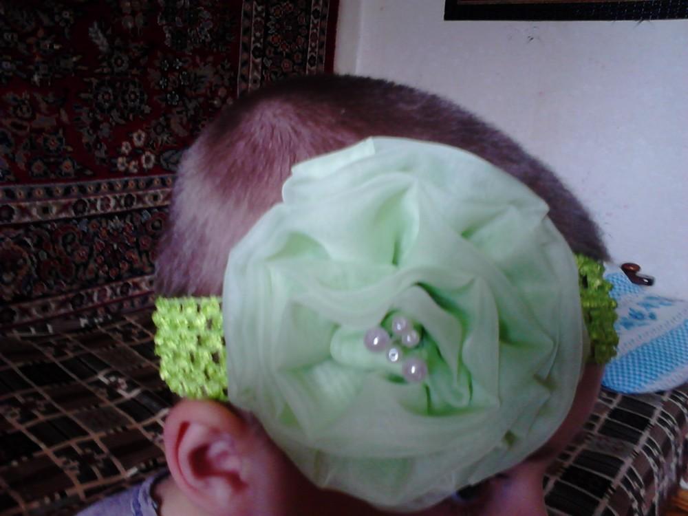 Повязочка на голову с 0 мес. фото №1
