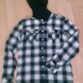 Рубашка с капишоном 12-13 лет