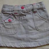 Джинсовая юбка New Look Girls ( 9-12 мес., можно дольше )