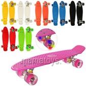 Пенни Скейт MS 0848-2. Свет колес