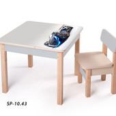 Новинка! серия столов-парт для мальчиков - Спортивные авто, (sp-10.43) Вальтер