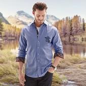 Отличная мужская рубашка от тсм Tchibo размер ХL евро