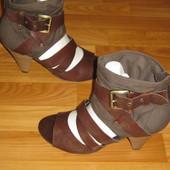 Стильные сапоги-босоножки 5th Avenu (США), размер 40 (26 см)