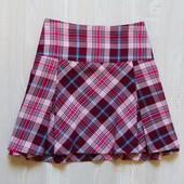 Стильная юбка в шотландском стиле для девочки или мамы. H&M. Размер 14+. Состояние: новой вещи.