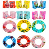 Новые!!! Надувные нарукавники или круг на выбор Пеппа, Тачки, Фрозен, Миньоны и т.д. крпочта+9грн