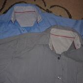 Рубашки мужские. Осталась синяя. Очень стильные. Котончик.
