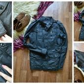 Стильная мужская куртка-тренч с пропиткой Benzini,р-р М-Л
