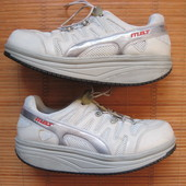 MBT Sport 04 (44, 28 см) ортопедические кожаные кроссовки мужские