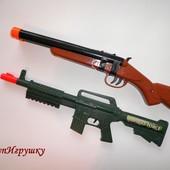 Автомат ружье двустволка на батарейках Asda