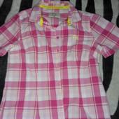 женская фирменная рубашка рр.46-48