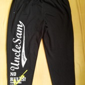 Спортивные утеплённые штаны р.54-56