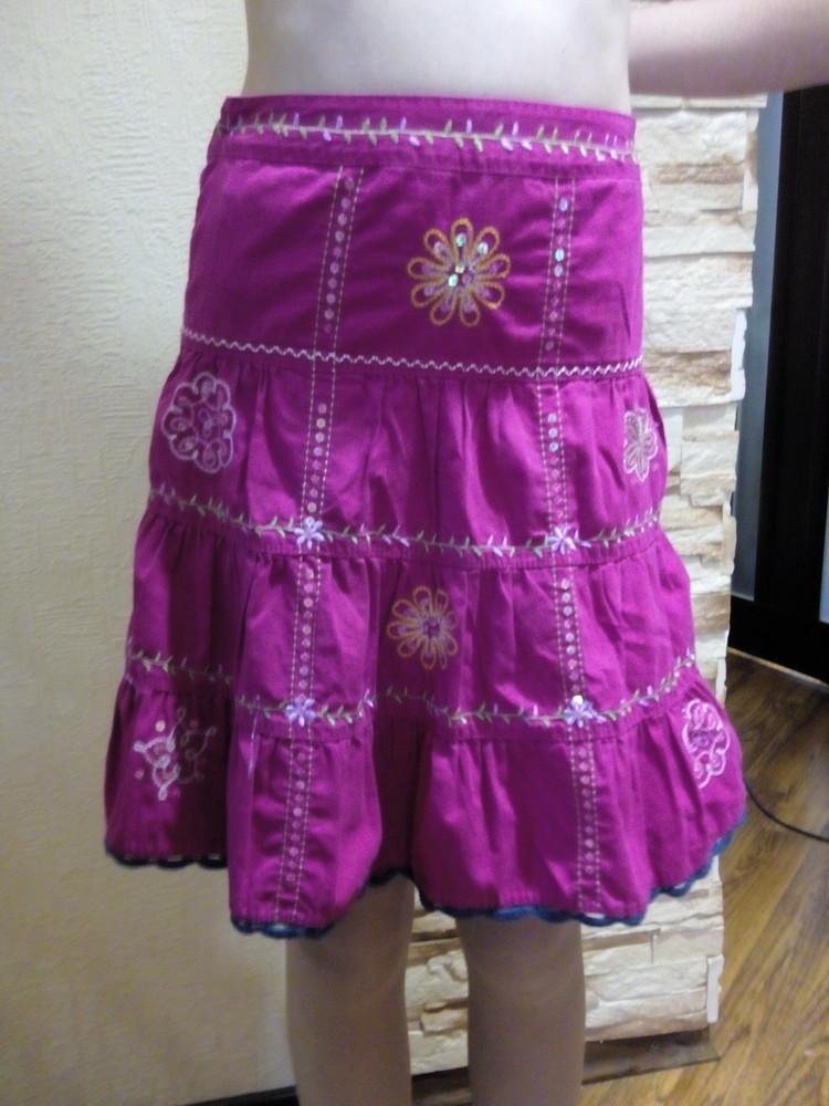 Красивая юбка next, 100% хлопок фото №1