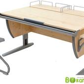 Доставка!! Гарантия! Дэми - парта  + стул+ 2 задних полки и 1 боковая, клен серый (Д-20031055)