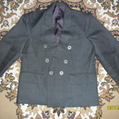 Школьный пиджак для мальчика 7-8лет