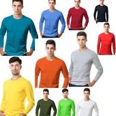 Мужские Футболки классика (S по 3XL)12 цветов