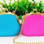 Силиконовые сумочки для маленьких модниц