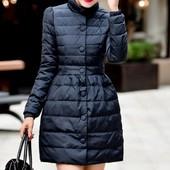 куртка женская зимняя пуховик женский приталенная  ХИТ  пальто монклер теплая дутики сапоги сникерсы