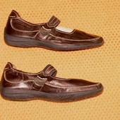 Брендовые туфли мокасины Tamaris 38р Кожа