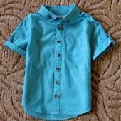 Рубашка на 12-18мес