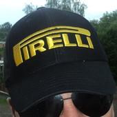 Фірмова стильна кепка Pirelli (пирелли) 57-58