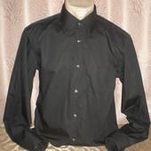 Черная рубашка 50 размера