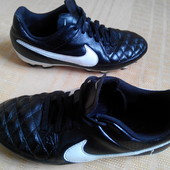 Бутсы-футзал кожа Nike Tiempo(оригинал)р38