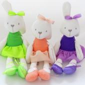 Мягкая игрушка кролик (зайчик, заяц) Mamas & Papas. Разные цвета