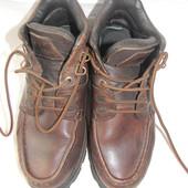 Мужские кожаные ботинки pod р.41(7) дл.ст 26,5см