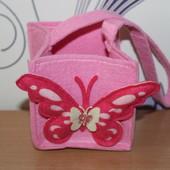 фетровая сумочка
