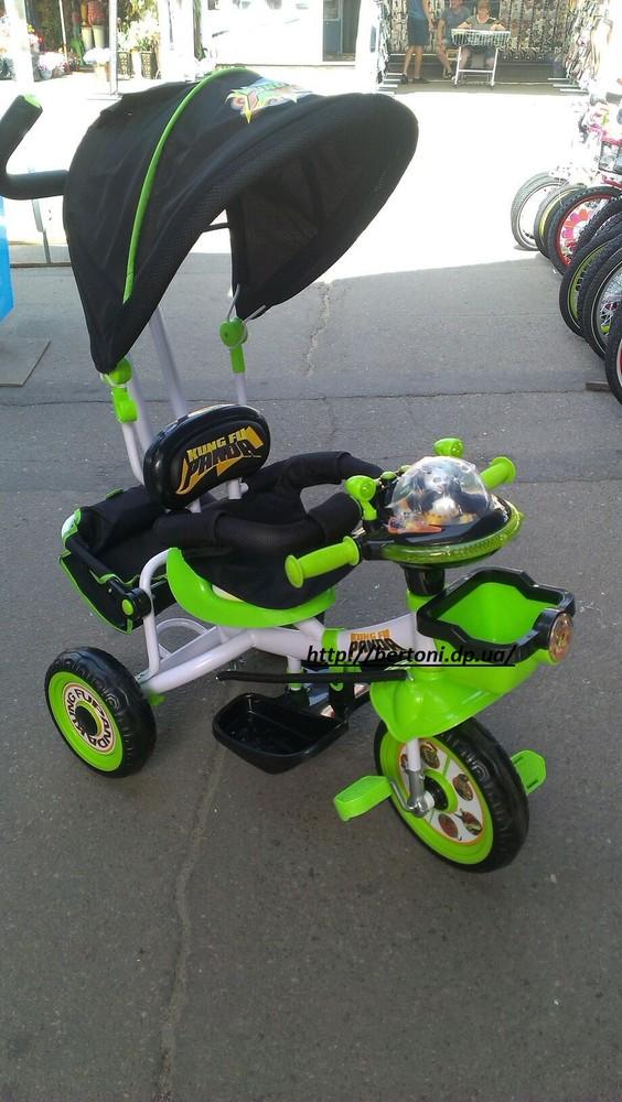Детский трехколесный велосипед панда фото №1