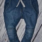 2 - 3 года 98 см Фирменные крутые спортивные джинсы шароварчики моднику