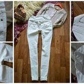 Шикарные джинсы-скинни для беременных,р-р М