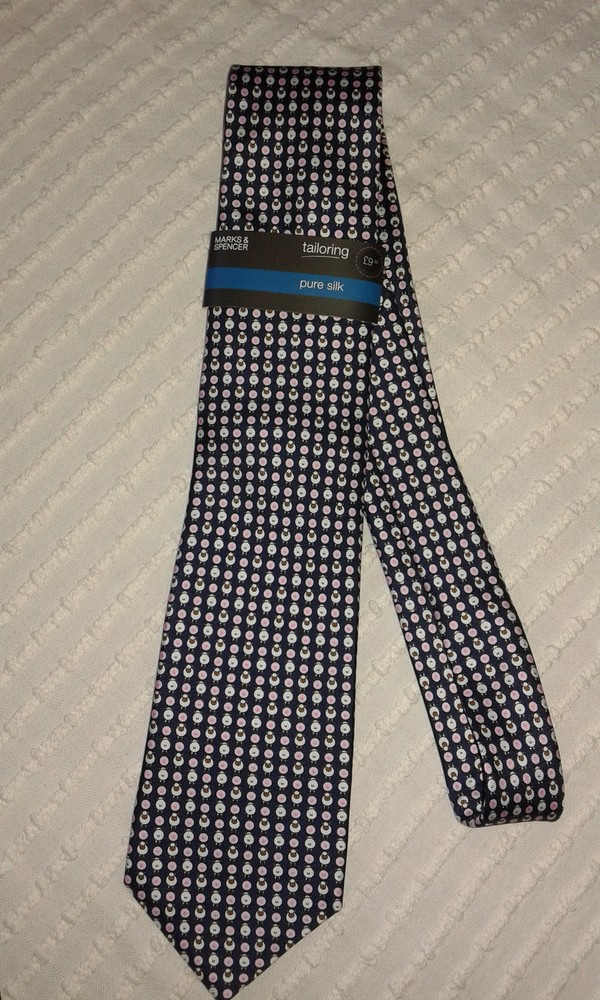 Шикарный новый шелковый галстук от m&s фото №1