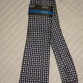 Шикарный новый шелковый галстук от M&S