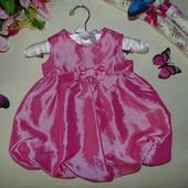Изысканное  платье 3-6м(62-68см)Мега выбор обуви и одежды